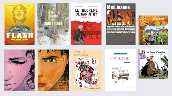 Albums en dédicace au festival d'Angoulême du 30 janvier au 2 février 2014 : + d'infos
