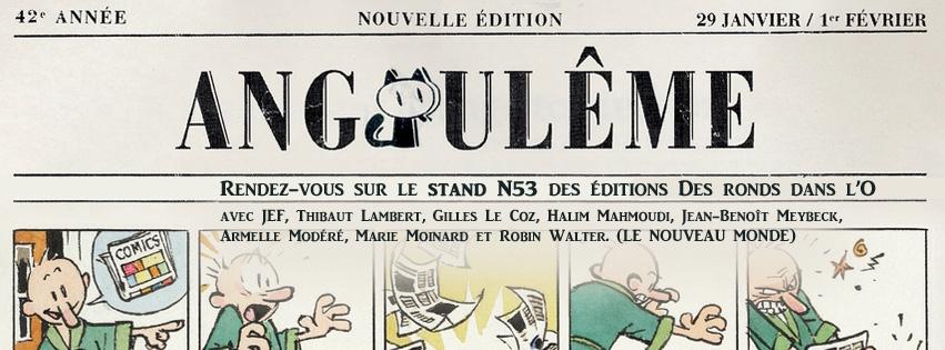 Rendez-vous au FIBD à Angoulême : stand N53, Le Nouveau Monde (auteurs, plan)