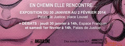 En chemin elle rencontre... : Exposition et débats à Angoulême (+ d'infos)