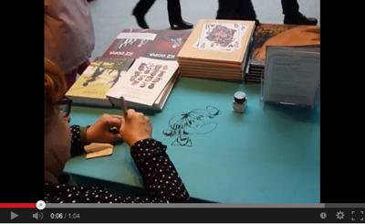 Florence Cestac à Saint-Malo - En chemin elle rencontre... : voir la vidéo sur YouTube