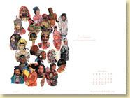 Mai 2013 - Fond d'écran n°2 : Ces femmes qui changent le monde de Marie-Ange Le Rochais (Des ronds dans l'O - mai 2013)