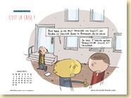 Avril 2013 - Fond d'écran n°3 : C'est la crise ! de Eric Appéré (Des ronds dans l'O - mars 2013)