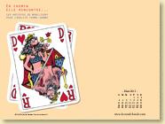 Mars 2013 - Fond d'écran n°2 : En chemin elle rencontre... vol.3 - Les artistes se mobilisent pour l'égalité femme-homme (Des ronds dans l'O - 28 fév. 2013)