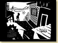 JANVIER 2014 - Fond d'écran n°2 : Photo de la Favela d'André Diniz, photos de Mauricio Hora / Récits, documents