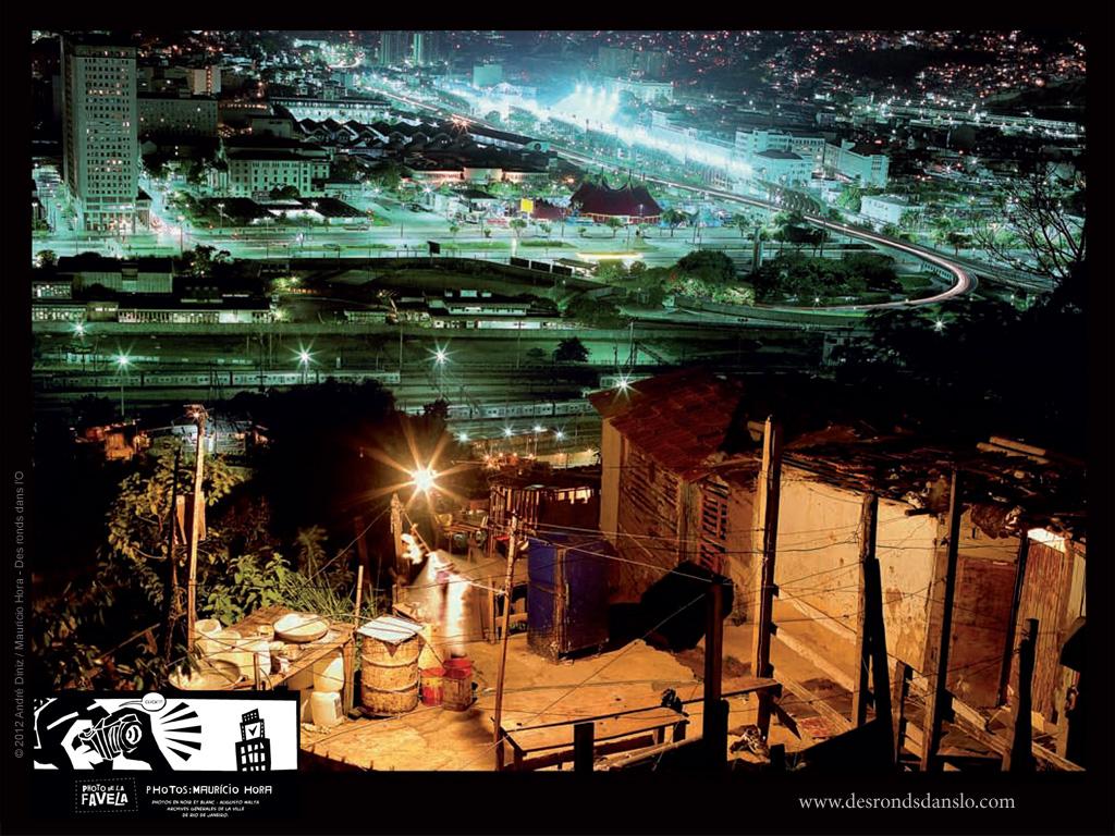 Fond d'écran de JUIN 2012 n°1 : Photo de la Favela de André Diniz, photos de Mauricio Hora (en librairie le 14 juin 2012)