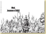 Fonds d'écran - Moi, Jeanne d'Arc de Valérie Mangin et Jeanne Puchol