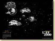 Fond d'écran n°3 - L'An 2000 d'Arnaud Quéré