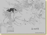 Fond d'écran n°2 : Le modèle, de Laëtitia Rouxel (oct. 2011)
