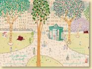 Novembre 2012 - Fond d'écran n°4 : La petite vieille du vendredi de Marie Moinard et Isaly (Des ronds dans l'O,  oct. 2012)