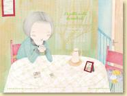 Décembre 2012 - Fond d'écran n°5 : La petite vieille du vendredi de Marie Moinard et Isaly (Des ronds dans l'O,  oct. 2012)