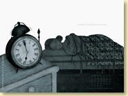 Fond d'écran de MAI 2012 n°1 : La petite fille qui prenait racine de Caroline Van Linthout et Pole Ka (en librairie depuis le 19 avril 2012)