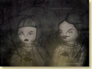 NOVEMBRE 2013 - Fond d'écran n°6 : La petite fille qui prenait racine / Jeunesse (archives / sans calendrier)