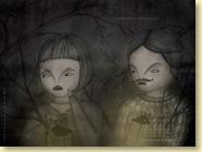 Fond d'écran de MAI 2012 n°2 : La petite fille qui prenait racine de Caroline Van Linthout et Pole Ka (en librairie depuis le 19 avril 2012)