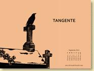 Fond d'écran de Septembre 2012 n°3 : Tangente de Céline Wagner (en librairie le 13 septembre 2012)