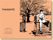 Fond d'écran de Septembre 2012 n°4 : Tangente de Céline Wagner (en librairie le 13 septembre 2012)
