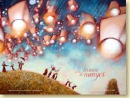 Décembre 2012 - Fond d'écran n°1 : La tisseuse de nuages d'Ingrid Chabbert et Virginie Rapiat (Des ronds dans l'O, 15 novembre 2012)