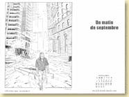 OCTOBRE 2013 - Fond d'écran n°3 : Un matin de septembre de Jérôme Pigney / Un roman graphique (Des ronds dans l'O - août 2013)