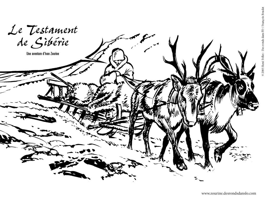 Voir les fonds d'écran de Ivan Zourine, le testament de Sibérie de Jacques Stoquart et René Follet