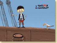 MAI 2014 - Fond d'écran n°2 : Le trésor du cachalot de Thibault Poursin / Jeunesse