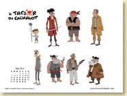 MAI 2014 - Fond d'écran n°1 : Le trésor du cachalot de Thibault Poursin / Jeunesse