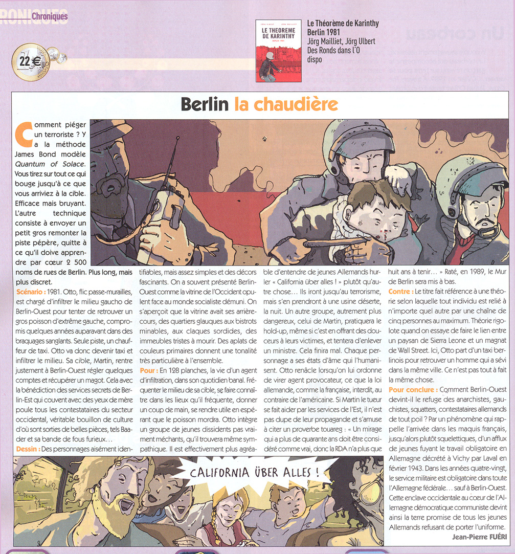 Lire l'article de Casemate : Le théorème de Karinthy