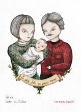 La petite fille qui prenait racine de Caroline Van Linthout et Pole Ka (parution 19 avril 2012) - Présentation détaillée