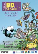 Festival BD 2011 de Semur en Auxois - Affiche