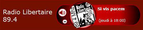 Ecouter Radio Libertaire en direct